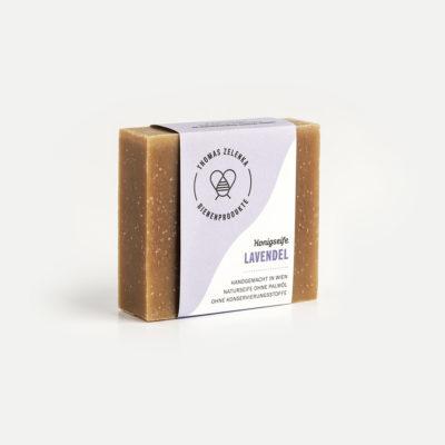 Honigseife mit Lavendel